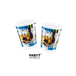 Donald Duck Plastic Cups (8)