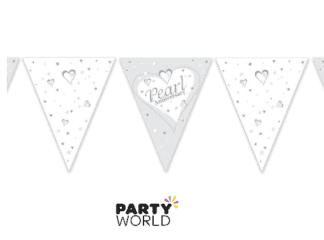pearl anniversary bunting