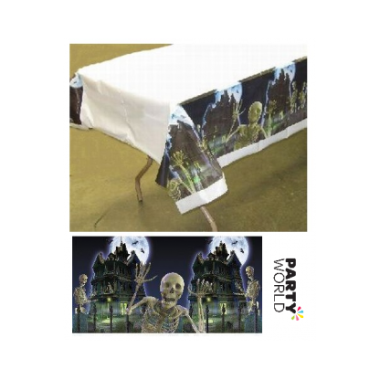 Eerie Estate Plastic Tablecover
