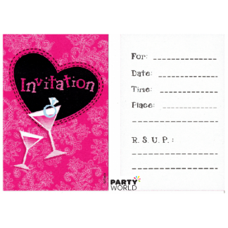 Hen's Party Invitations (6)