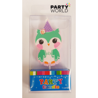 Hoot Owl Candle