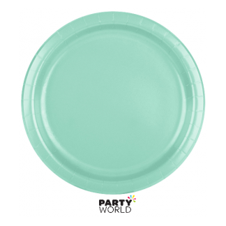 Fresh Mint Paper Plates 7in (24)
