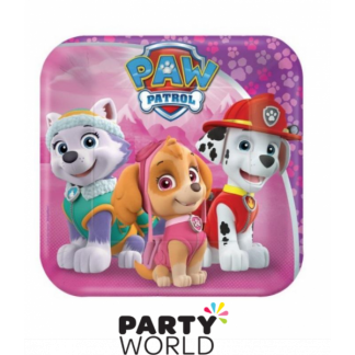 Paw Patrol Girls Plates 7in (8)