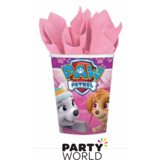Paw Patrol Girls Paper Cups (8)