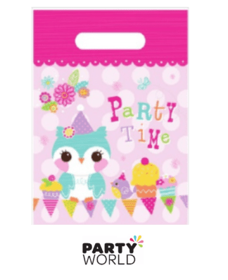 owl party loot bags