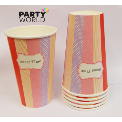 Sweet Time Paper Cups 500ml (6)