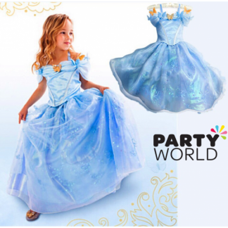 Blue Princess Dress size 130