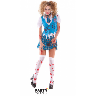 Zombie Cheerleader Costume (size M)