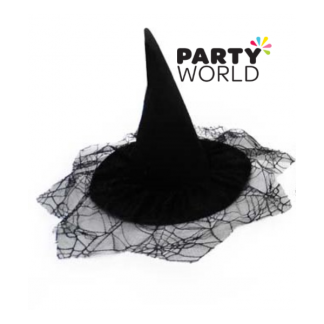 Kid Witch Hat Black