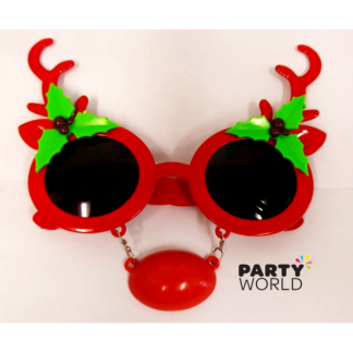 Rudolph The Red-Nosed Reindeer Party Glasses