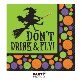 Don't Drink And Fly Beverage Napkins (16)