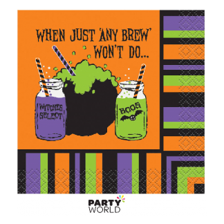 Any Brew Won't Do Halloween Beverage Napkins (16)