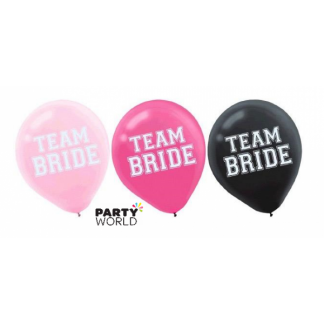 Team Bride Latex Balloons (15)
