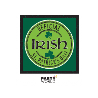 Officially Irish Beverage Napkins (18)