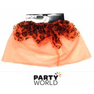 Orange Pumpkin Tutu for 2 - 4 years