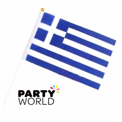 Greek Stick Flag