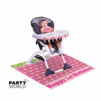Ocean Preppy Girl High Chair Kit