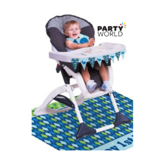 Ocean Preppy Boy High Chair Kit