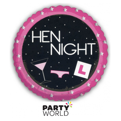 Hen Night Foil Balloon