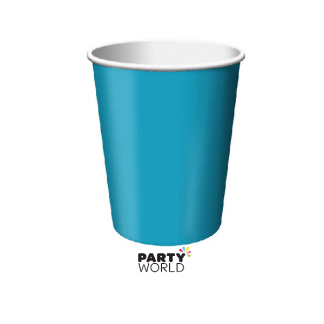 Turquoise Paper Cups (24)