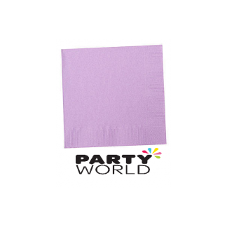 Luscious Lavender Luncheon Napkins (50)