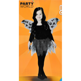 Black Fairy Kids Costume