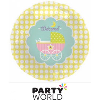 Baby Buggy Welcome Foil Balloon
