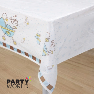 Baby Joy Blue Table Cover