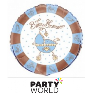 Baby Joy Blue Foil Balloon