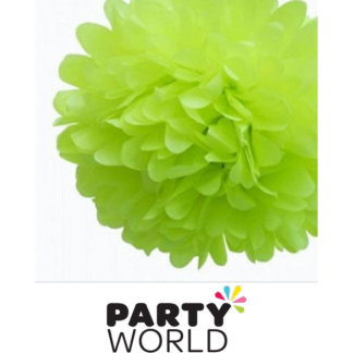 Green Fluffy Decoration - Soft Edge (3)