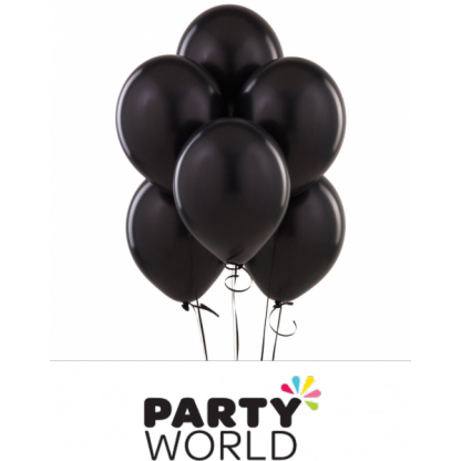 Black Latex Balloons (20) 30cm