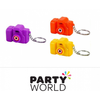 Camera Keyrings (3)