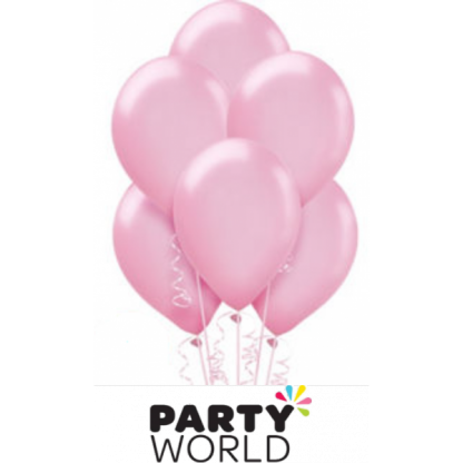 Pearl Pink Balloons (20) 30cm
