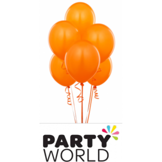 Orange Balloons (20) 30cm