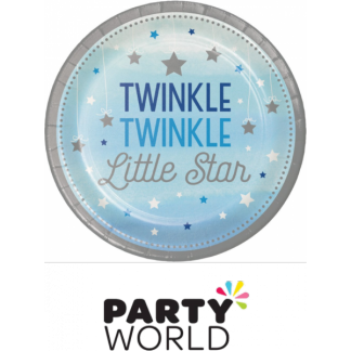 Twinkle Twinkle Little Star Paper Plates 7in (8)