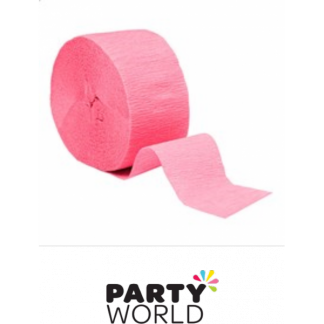 Lovely Pink Crepe Streamer (2pk)