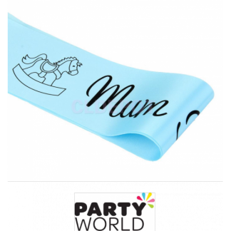 Mum To Be Sash - Blue