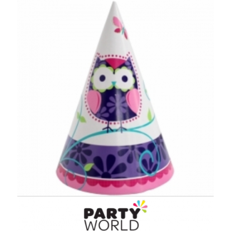 Owl Pal Party Hats (8)