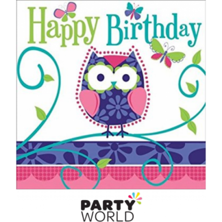 Owl Pal Happy Birthday Napkins (16)