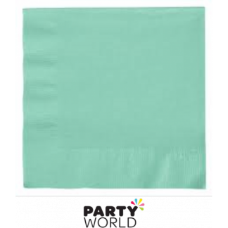 Fresh Mint Beverage Napkins (50)