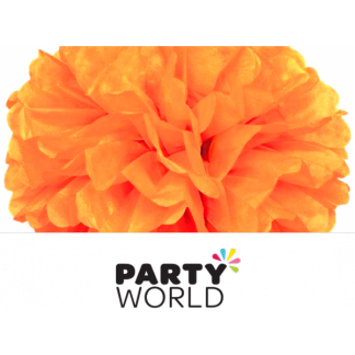 16in Puff Ball - Pumpkin Orange