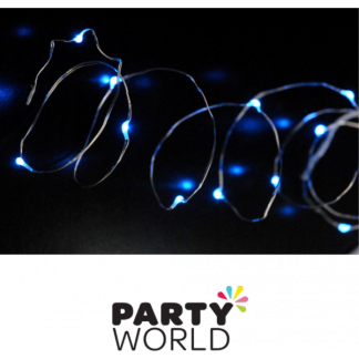 LED Seed Lights - 2m string with 20 lights - Blue