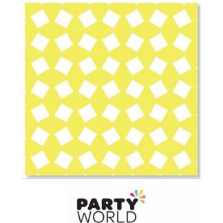 Party Napkins Printed - Yellow (20)