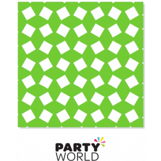 Party Napkins Printed - Green (20)