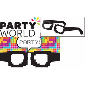 Pixel Glasses Invitations (8)