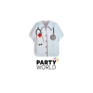 Doctor Vest Shaped Plates (8)