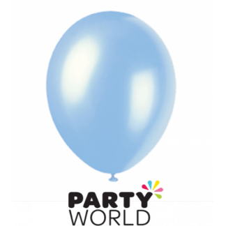 Pearl Blue Balloons (20) 30cm