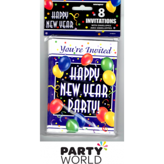 New Year Party Invitations (8)