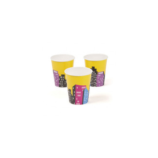 Super Hero Girl 9oz Cups (8)