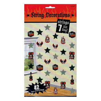 Rock And Roll String Decorations (6)